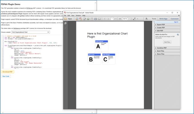 Client Side PDF Generation