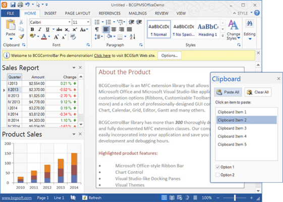 MS Office 2007/2010/2013-style