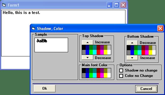 Screenshot of ALLText HT/Pro - VBX
