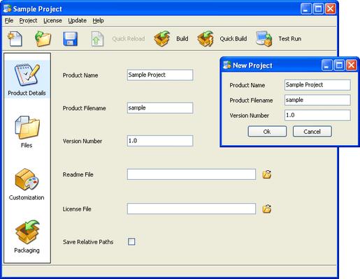 InstallBuilder Enterprise (英語版) のスクリーンショット