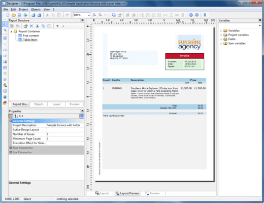 Screenshot of List & Label Language Kits for Designer