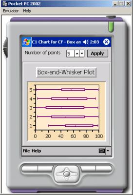 Screenshot of ComponentOne Studio for Compact Framework