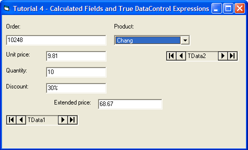Calculated Fields and Formatting