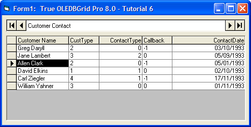 <strong>Define Unbound Columns in a Bound Grid</strong><br /><em>Use the UnboundColumnFetch event to display two fields (FirstName and LastName) together in one column and use a SQL statement to create a join between two tables in a database.</em><br /><br />