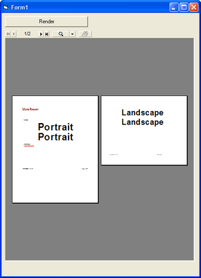 Portrait or Landscape