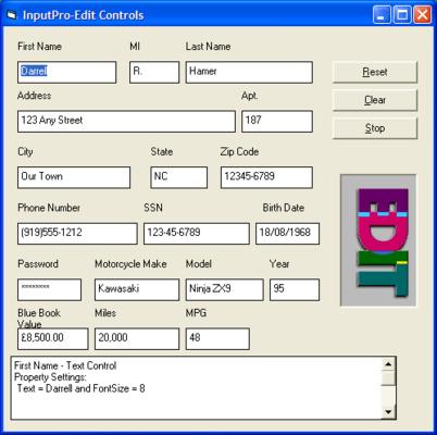 Edit Controls
