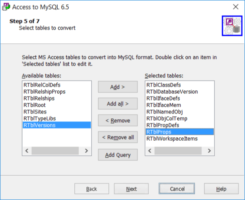 Add SELECT-Query