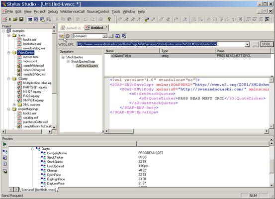 Web Service Call Composer (SOAP Tester)