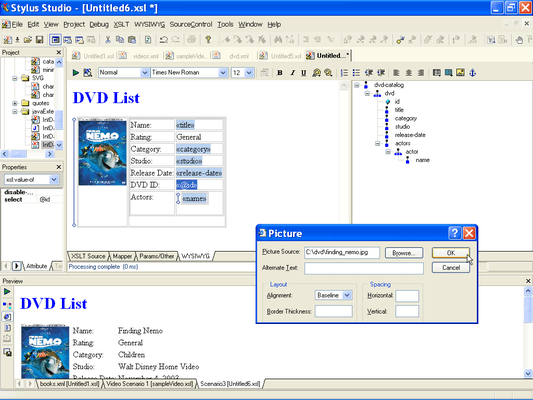 HTML to XML Importer