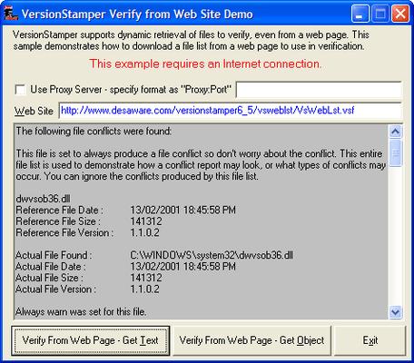 Download Verification Lists