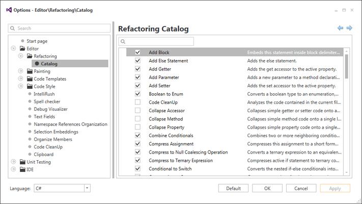 Refactorings
