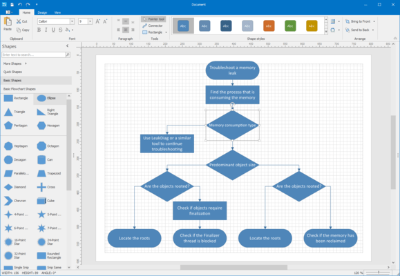DevExpress WinForms - Diagram Designer