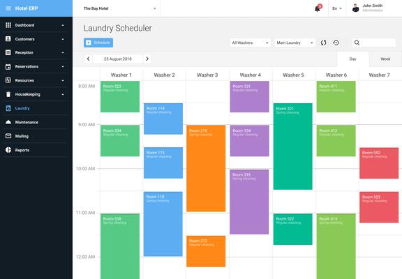 ASP.NET Core Scheduler