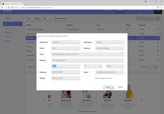 Bootstrap Form Editing