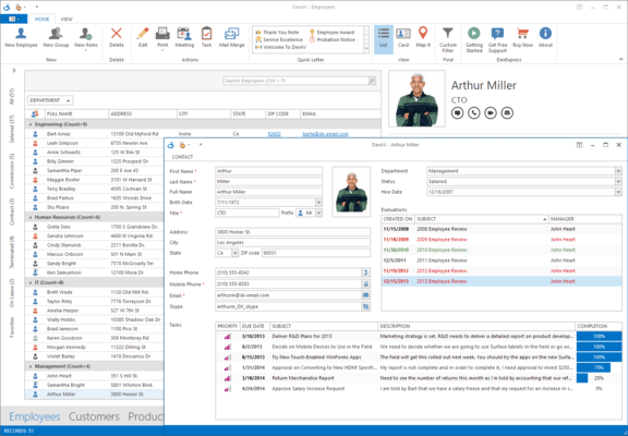WinForms Data Grid and Editors