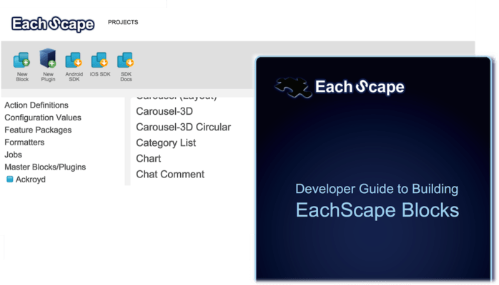 EachScape Develop - Module Builder - Native Code
