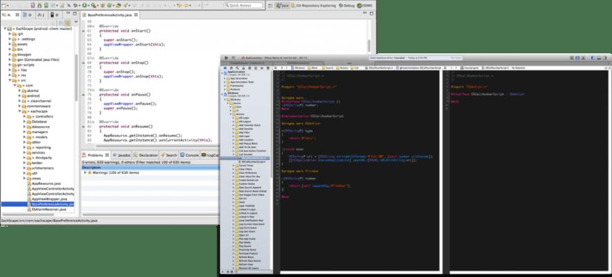 EachScape Develop - Module Builder - Xcode or Eclipse