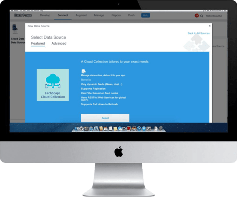 EachScape - Cloud Connection