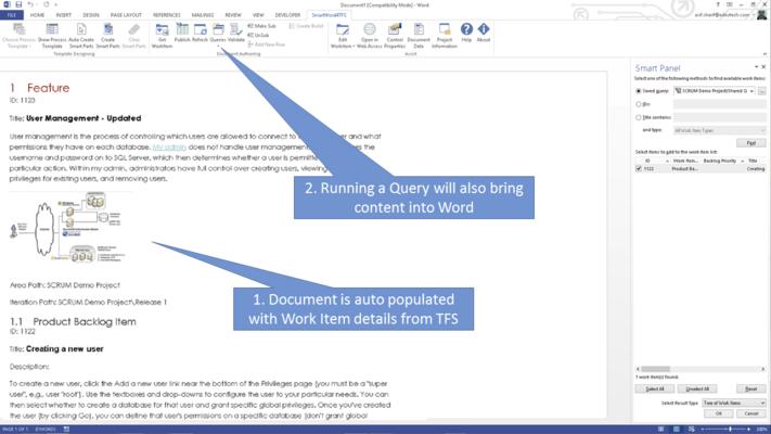 Auto Populate Word Document