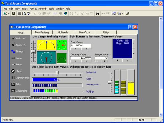 Total Access Developer Suite (英語版) のスクリーンショット