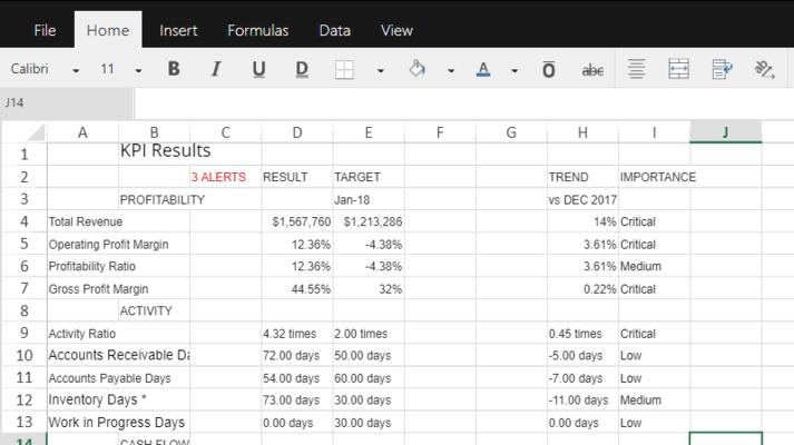Excel-like mobile JS spreadsheet apps