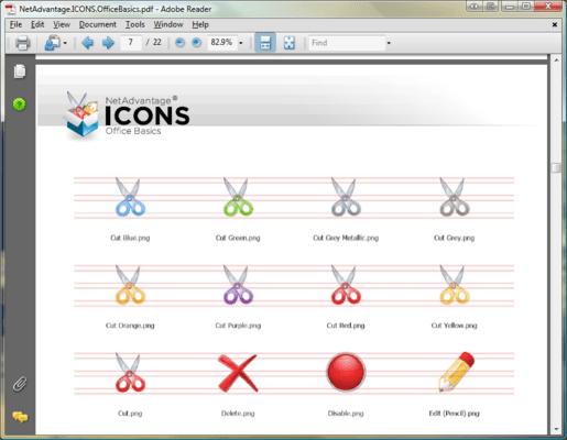 Icon Sizes