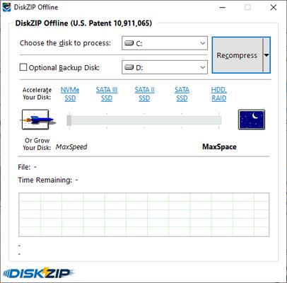 InstallAware DiskZIP Privacy