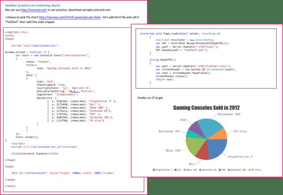 IronPDF - JavaScript Rendering