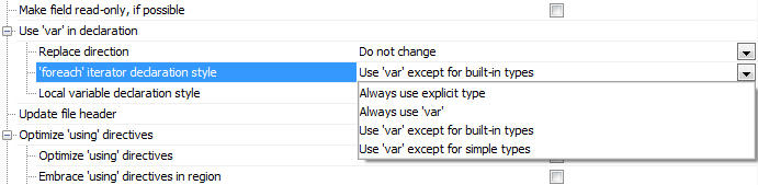 Configuring Language Usage Options