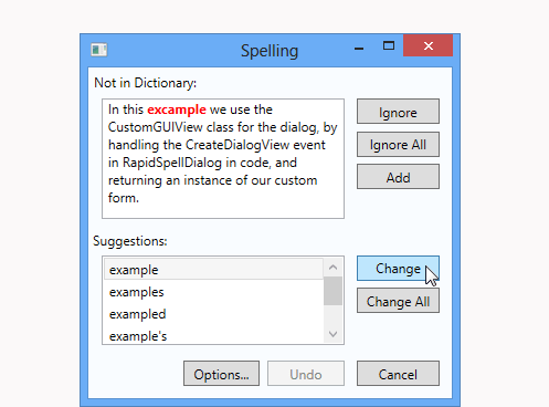 Your beautiful WPF app needs a spell checker to match