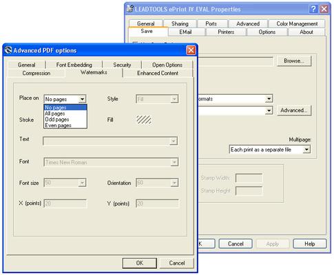 PDF Watermarks