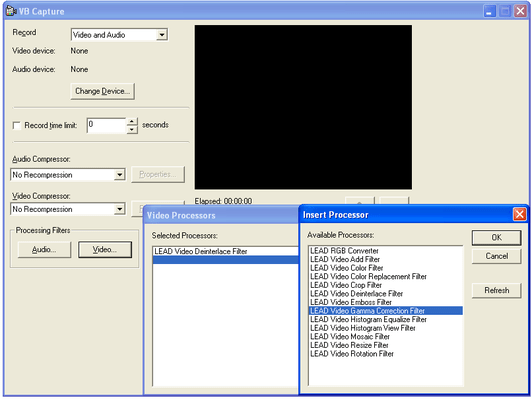 Screenshot of LEADTOOLS Multimedia Suite SDK