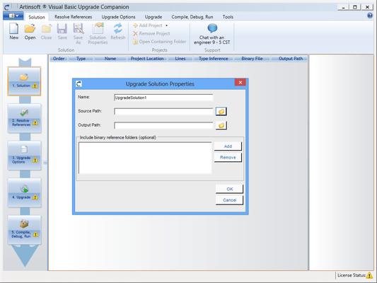 artinsoft visual basic upgrade companion