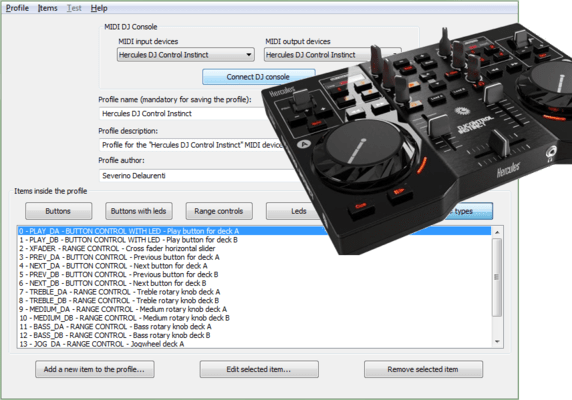 Manage MIDI consoles for DJ