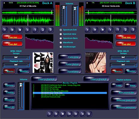Demo DJ application