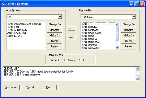 Client FTP