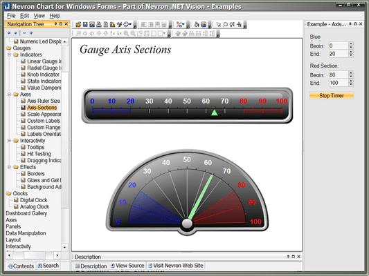 Screenshot of Nevron .NET Vision Ultimate