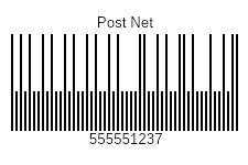 Post Net Barcode