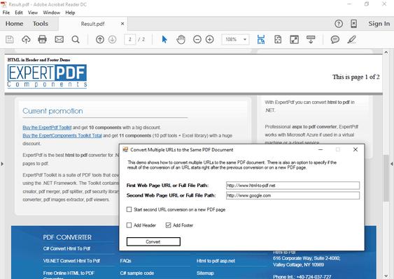 html to pdf converter api