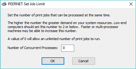 Set Job Limit