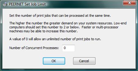Set Job Limit
