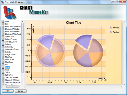 Screenshot of SharpShooter OLAP.Win