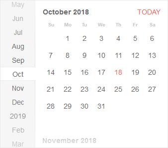 KendoReact - Calendar