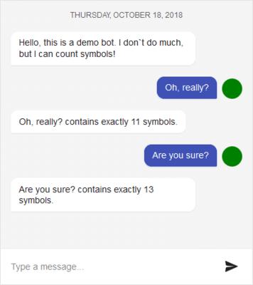 KendoReact - Conversational UI