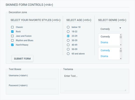 Telerik ASP.NET AJAX Form Decorator