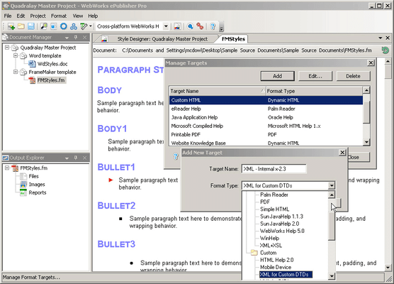 ePublisher Platform 스크린샷