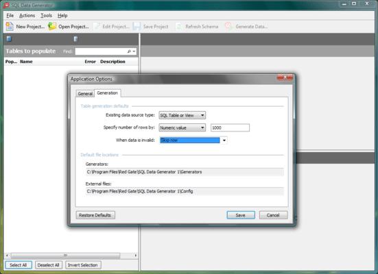 SQL Data Generator