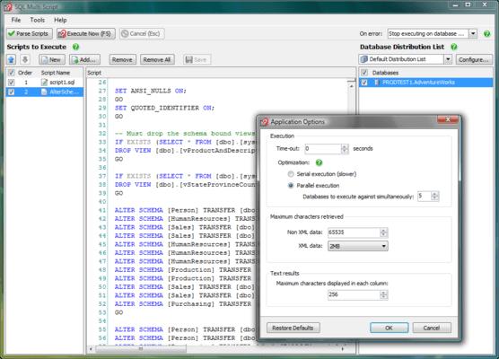 SQL Multi Script Unlimited