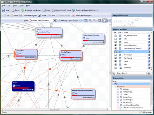 SQL Dependency Tracker