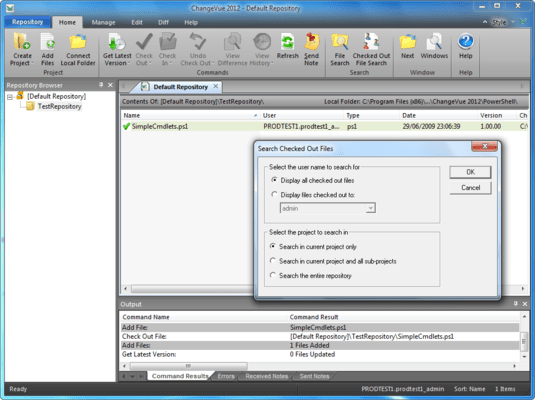 Screenshot of SAPIEN Software Suite